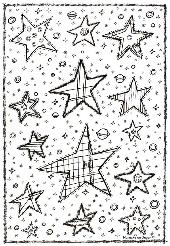 Kerststal Figuren Kleurplaten.Downloadpagina Hanneke De Jager